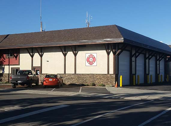 Yellowstone Fire Station Exterior Commercial