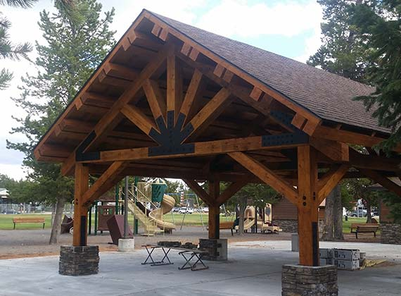 West Yellowstone Commercial Park Pavilion 2
