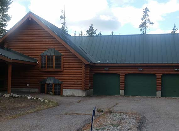 Jones Exterior Log Home 2