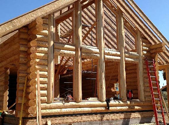 Krushensky Construction Log Home