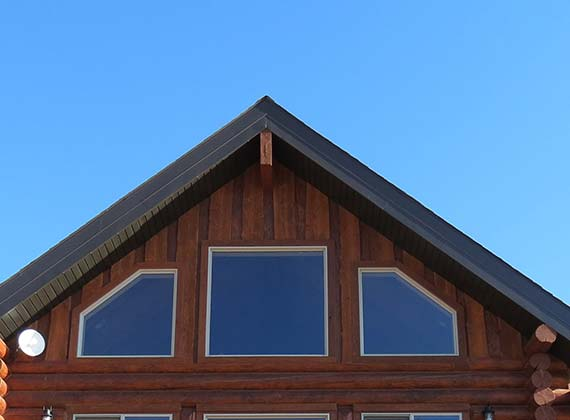 McDonough Exterior Custom Log Home 5