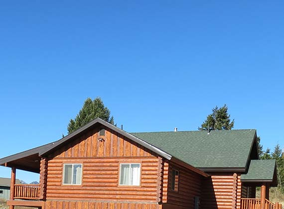 McDonough Exterior Custom Log Home 6